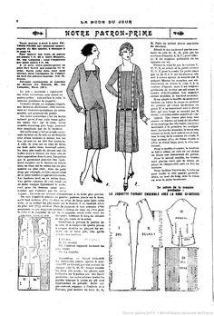 La Mode du jour. [1926/02/11