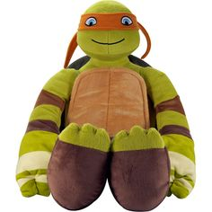 tmnt michelangelo pillow buddy | Teenage Mutant Ninja Turtles Michelangelo Pillowbuddy: Kids' & Teen ...