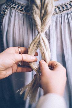 How To Fake A Fishtail Braid