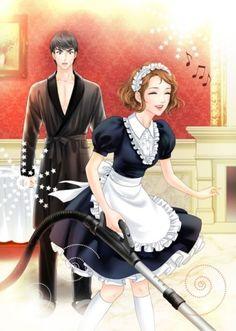 전화와 나-로맨스(완결) : 네이버 블로그 Manga Couple, Anime Love Couple, Couple Art, Anime Love Story, Manga Love, Romantic Couples, Cute Couples, Fantasy Couples, Cutest Couple Ever