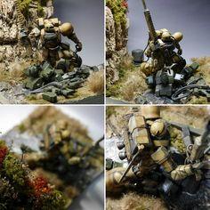 Grenz Situation Diorama by minickm1   Gundam Century
