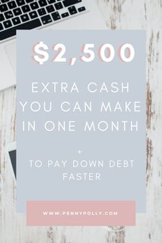 You might need extra cash for debt repayment, to save for a house, or go on a vacation. Whatever your needs here are 14 quick ways to make extra money this month! #makemoney #extraincome Ways To Save Money, Money Saving Tips, How To Make Money, Business Tips, Online Business, Creative Business, Extra Cash, Extra Money, Debt Repayment