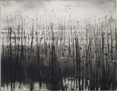 Norman Ackroyd 'Moored Man' including the etching 'Overy Marshes', 2006