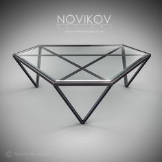 TRI magazine table by Novikov Designs www.novikovdesigns.co.uk