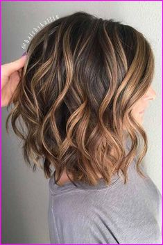Medium Length Wavy Hairstyles 2018