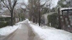 Nieve en Potrero de los Funes, San Luis, Argentina