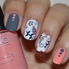 Pretty Painted Fingers &Toes Nail Polish  Serafini Amelia  Instagram photo by judyrox #nail #nails #nailart