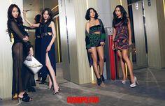 Sistar's Cosmopolitan Photoshoot 2016  I Like That  Hyorin