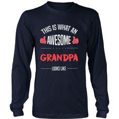 """""""Awesome Grandpa"""" T-Shirt"""