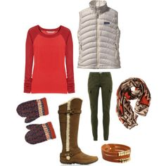 great ski/snow outfit