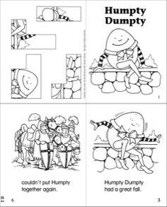 Sub Plans for Humpty Dumpty (Kindergarten Sub Plans