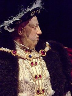 King Henry VIII historical portrait sculpture by artist-historian George Stuart (5) by mharrsch, via Flickr