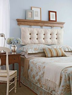 tete de lit alinea , tete de lit a faire soi meme en tissu