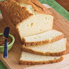 """I almost hate to pin this to give it away, but this is THE best Christmas recipe I've ever made - people flipped.  Eggnog Pound Cake.""  Wow!  I must try!"