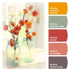 Paint colors from Chip It! by Sherwin-Williams Molly's new room pallet