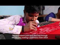Люневильская вышивка - YouTube