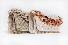Best Leather Wallets For Women 2019 Crochet Clutch Bags, Free Crochet Bag, Mode Crochet, Crochet Tote, Crochet Handbags, Crochet Purses, Handmade Handbags, Handmade Bags, Best Leather Wallet
