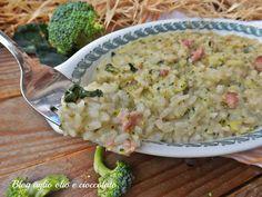 risotto broccoletti salsiccia e gorgonzola