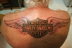 Harley Davidson design with wings By Anny, Ladyline TATTOO, Puerto del Carmen, Lanzarote, Canary Islands Hd Tattoos, Biker Tattoos, Motorcycle Tattoos, Body Art Tattoos, Cool Tattoos, Tatoos, Motorcycle Helmet, Future Tattoos, Tattoos For Guys