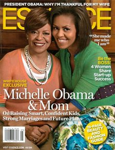 Michelle Obama, Marian Shiels Robinson, Essence Magazine