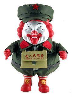 MC Supersized China by Ron English