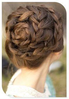 Lovely rose braid