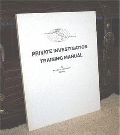 Universal School Of Investigation Investigations School Private Investigator