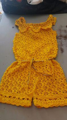 Best 12 baby crochet patterns 2016 Archives – Beautiful Crochet Patterns and Knitting Patterns – SkillOfKing. Crochet Pants, Crochet Romper, Crochet Baby Clothes, Crochet Bikini, Knit Crochet, Crochet Dresses, Knit Dress, Crochet Toddler, Crochet Girls