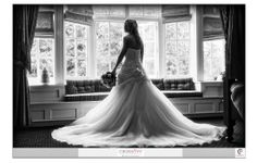Natural light #Bridal Portrait shows off this stunning #Weddingdress perfectly. Photography by Crossfire Photography www.crossfirephot... #LancashireWedding Photographers. Please do not crop or remove watermark. © Copyright Crossfire Photography 2013