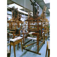 The Dobby Loom #dobbyloom #loom #weaving #textiles
