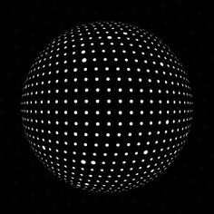 Gifs and motion design with dots and circles wavegrower — mirror ball Optical Illusion Gif, Illusion Art, Optical Illusions, Art Studio Design, Design Art, Graphic Design, Geometric Graphic, Fotografia Macro, Mirror Ball