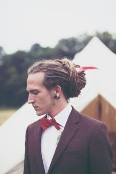 Dreadlocked Groom  http://devlinphotos.co.uk One Luv +dreadstop / @DreadStop #dreadlocks