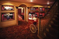 Basement Movie Room, Movie Theater Rooms, Home Cinema Room, Home Theater Decor, Best Home Theater, Home Theater Design, Home Theater Projectors, Home Movies, Bars For Home