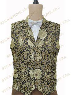 Theme:Steampunk Fabric:Jacquard Components:Vest Style:Steampunk Weight:0.5KG…