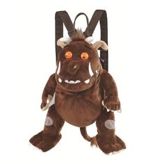 Gruffalo character back pack too cool for school :-) x