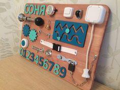Handmade busy board activity board