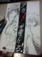 Fan arte Akame ga Kill por JaibenFarfan