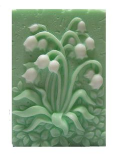 Lily Of The Valley Soaps - Vegan Soaps - Decorative Soaps - Glycerin Soaps - Moisturizing - Green Soaps - Lily Of The Valley Scent.