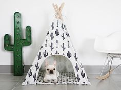 Cactus Dog Teepee by #Pipolli