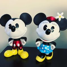 Mickey and Minnie Mouse Metals Die Cast, Mickey Mouse, Disney Characters, Michey Mouse, Baby Mouse