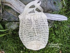 Straw Bag, Burlap, Reusable Tote Bags, Crocheting, Basket, Dime Bags, Crochet Hooks, Ganchillo, Hessian Fabric