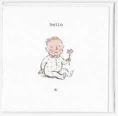 A personal favourite from my Etsy shop https://www.etsy.com/uk/listing/545992678/hello-baby-girl