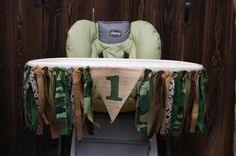 This High Chair Banner is a perfect addition to your little ones first birthday. The banner measures 3ft from end fabric to end fabric. There