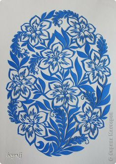 Fleurs du printemps. . Paper Cutting Patterns, Paper Cutting Templates, Stencil Patterns, Kirigami, Stencils, Laser Paper, Flora Design, Paper Plants, Vinyl Paper