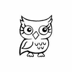 "Stempel ""Käuzchen / Eule"", 5 cm x 6 cm Bird Pictures, Pretty Birds, Fictional Characters, Art, Photo Illustration, Craft Art, Beautiful Birds, Kunst, Gcse Art"