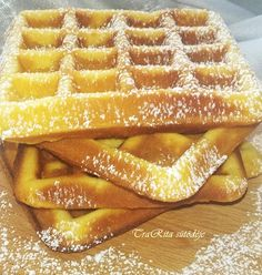 Bakery Recipes, Cooking Recipes, Fun Desserts, Dessert Recipes, Best Sandwich Recipes, Twisted Recipes, Hungarian Recipes, Sweet And Salty, Winter Food