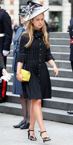 e7e84a8289d3b Lady Amelia Windsor attends a national service of thanksgiving to mark  Queen Elizabeth II s 90th birthday