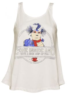 Ladies #Labyrinth Worm Cup of Tea Swing #Vest from #TruffleShuffle xoxo