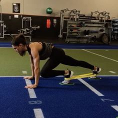 Mini Band Gliding  1. 15 reps  2. 60seconds  3. 10 reps each side  4. 60seconds  5. 15 reps  3-6 rounds  #AlexiaClark #queenofworkouts #fitness #fitgirl #fit #minibands #gliders #fullbodyworkout #core #friday #menshealthmag #womenshealth