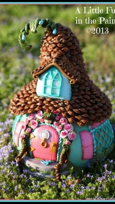 Do You Believe in Fairies?   Fairy houses, Craft house and Fairy
